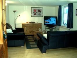 Wohnraum Ferienhaus, Familienwohnung Ferien Winterberg, Gasthaus Ausstattung