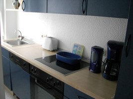 Küchenzelle Separat, Ferienhaus Küchengerät, Familie Unterkunft Sauerland