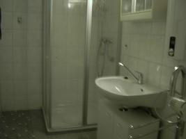 Dusche Ferienhaus Karles, Badezimmer Separat, Ausstattung Ferienhaus